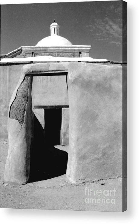 Shadows Acrylic Print featuring the photograph Sol Y Sombra by Kathy McClure