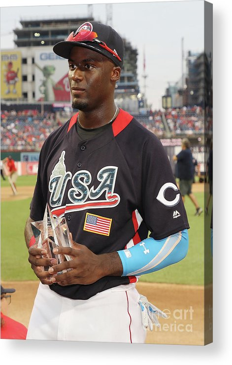 Three Quarter Length Acrylic Print featuring the photograph Siriusxm All-star Futures Game by Rob Carr