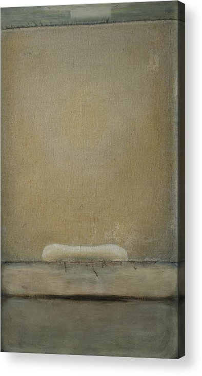 Bed Acrylic Print featuring the painting Gate by Oni Kerrtu