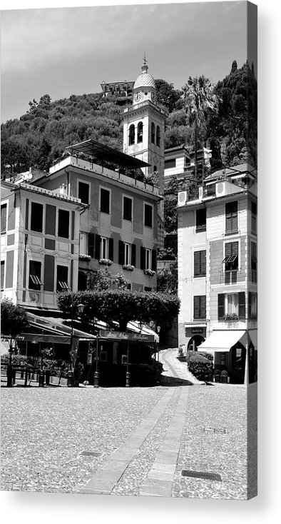Portofino Acrylic Print featuring the photograph Italian Riviera by Corinne Rhode