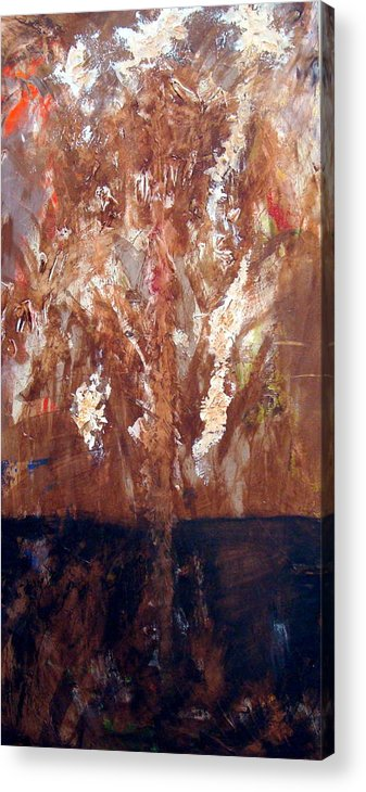 Autumn Acrylic Print featuring the painting Autumn by Holly Picano