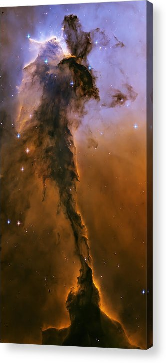 3scape Photos Acrylic Print featuring the photograph Stellar Spire In The Eagle Nebula by Adam Romanowicz