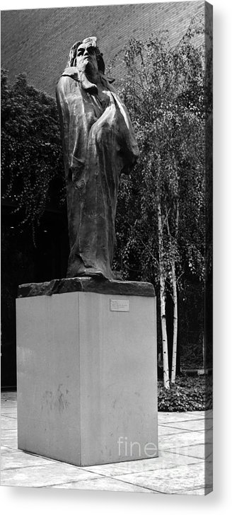1898 Acrylic Print featuring the photograph Honore De Balzac (1799-1850) by Granger