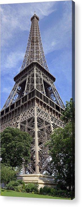 Eiffel Tower Photographs Acrylic Print featuring the photograph Eiffel Tower by Gary Lobdell