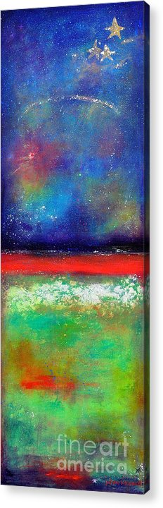 Emergence Acrylic Print featuring the painting Emergence by Johane Amirault