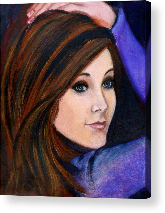 Daydreams Acrylic Print featuring the painting Daydreams by Debi Starr