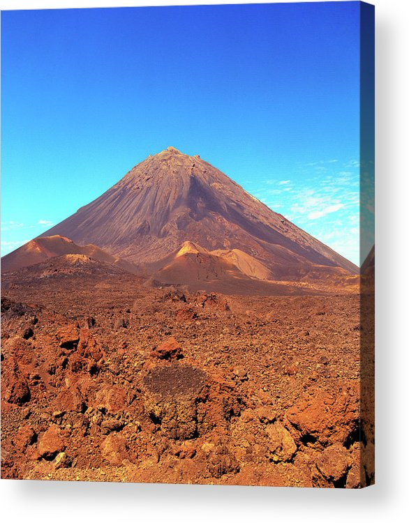 Africa Acrylic Print featuring the photograph Volcano On Fogo, Cape Verde Islands by Matthew Wakem