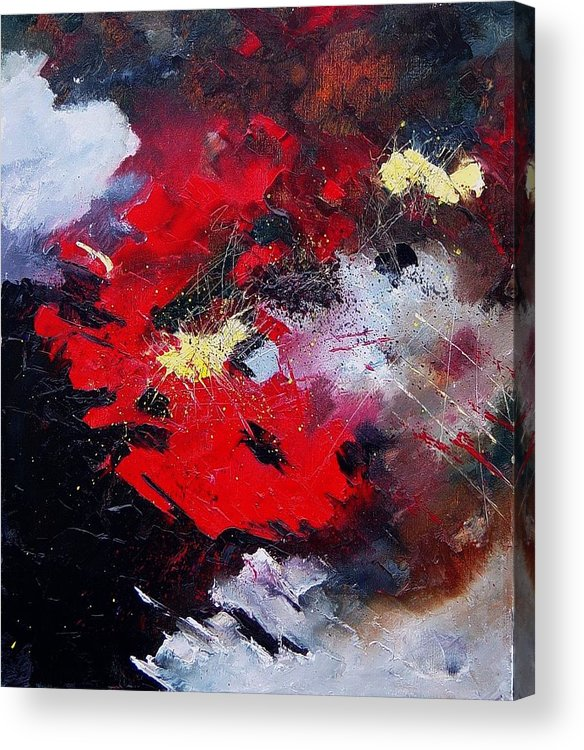 Abstract Acrylic Print featuring the painting Abstract070406 by Pol Ledent