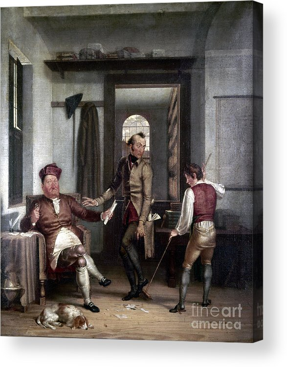 1811 Acrylic Print featuring the photograph Author & Bookseller, 1811 by Granger