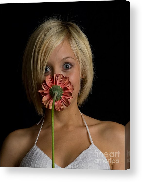 Flower Acrylic Print featuring the photograph Happy Flower by Scott Sawyer