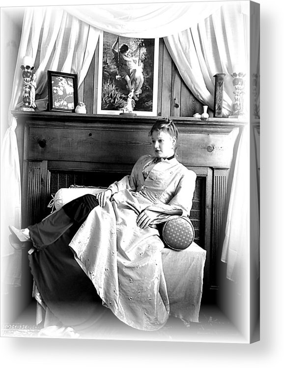 Woman Acrylic Print featuring the photograph Luxury by Scarlett Royal