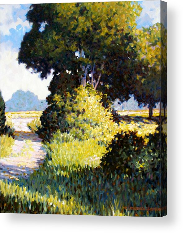 Landscape Acrylic Print featuring the painting Memory by Kevin Lawrence Leveque