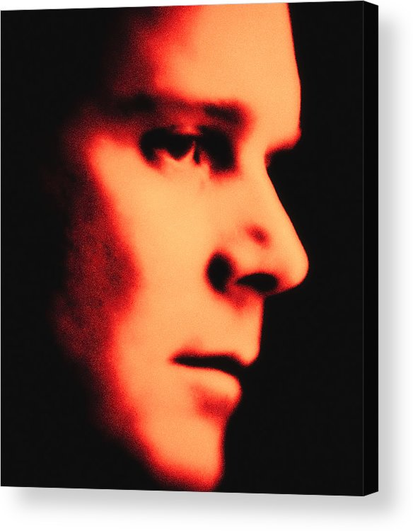 Peter Krause Acrylic Print featuring the photograph Peter Krause Abstract by Paul W Sharpe Aka Wizard of Wonders
