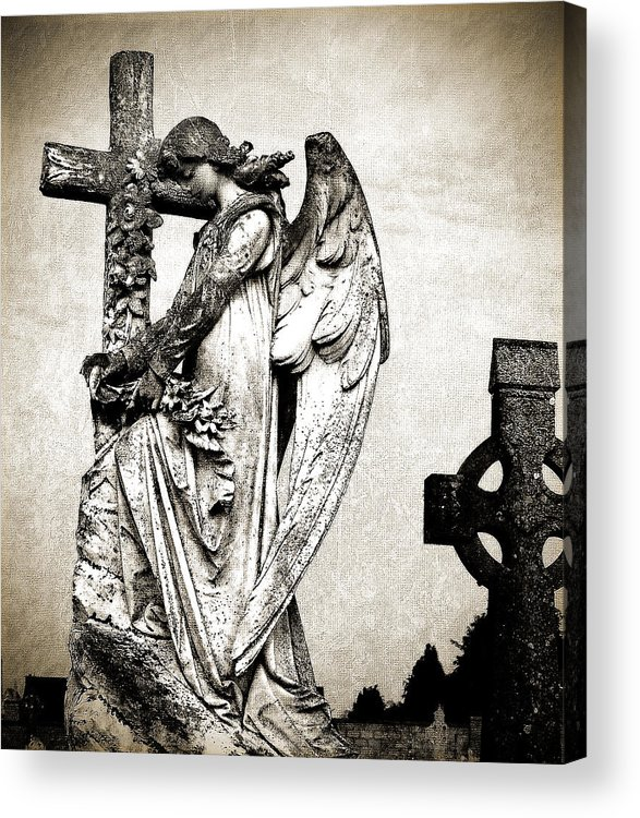 Ireland Acrylic Print featuring the photograph Roscommon Angel No 1 by Teresa Mucha