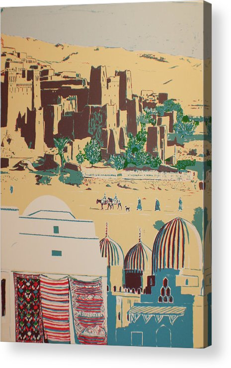 Acrylic Print featuring the print North African Landscape by Biagio Civale