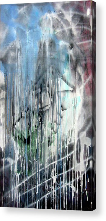 Abstract Acrylic Print featuring the painting ART by Leigh Odom