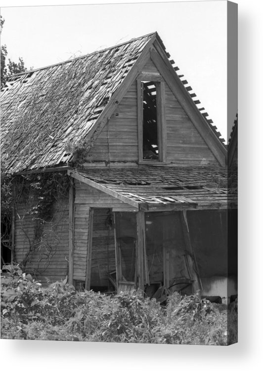 Acrylic Print featuring the photograph Moms-old-OK-room by Curtis J Neeley Jr