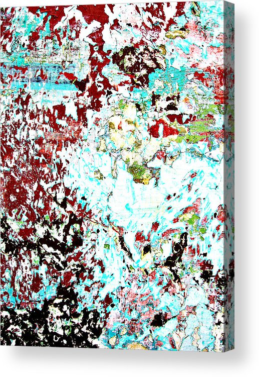 Wall Acrylic Print featuring the photograph Chipped Wall 1 by Derek Selander