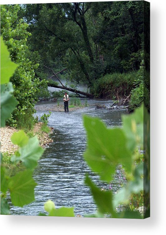 Current River Acrylic Print featuring the photograph Current River 5 by Marty Koch