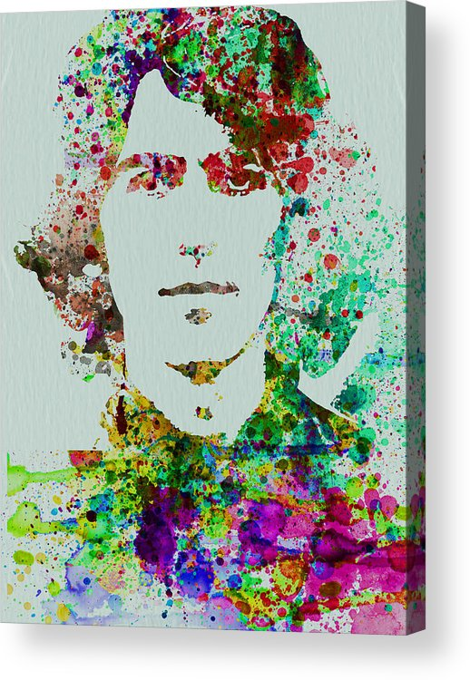 George Harrison Acrylic Print featuring the painting George Harrison by Naxart Studio
