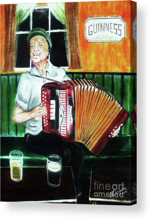 Art Acrylic Print featuring the painting Irish Tradition by O' Conaire