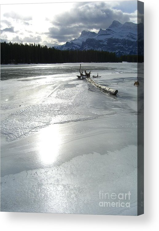 Lake Acrylic Print featuring the photograph Lake Miniwanka by Jim Thomson