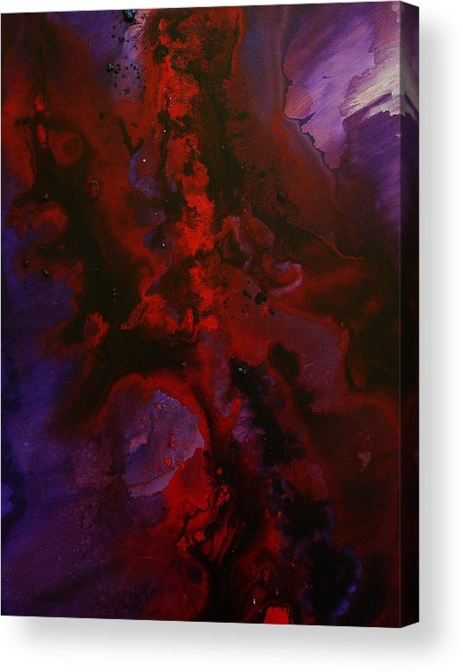 Acrylic Acrylic Print featuring the painting Let There Be Light by Tom Herrin