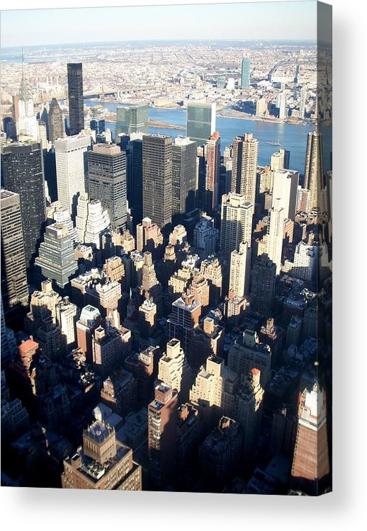 Nyc Acrylic Print featuring the photograph Nyc 4 by Anita Burgermeister