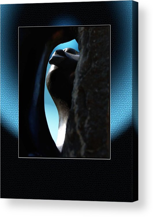 African Art Acrylic Print featuring the photograph StoneView by Richard Gordon