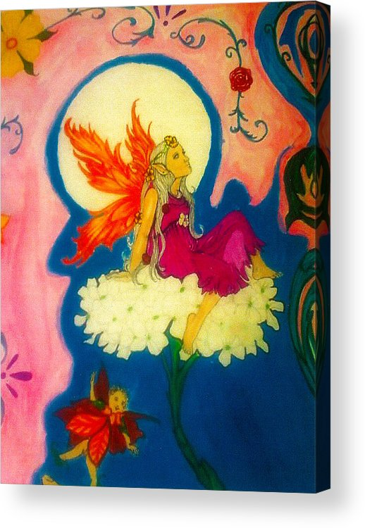 Acrylic Print featuring the pastel The Art of Being by Harry Richards