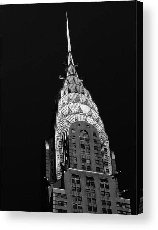 Chrysler Building Acrylic Print featuring the photograph The Chrysler Building by Vivienne Gucwa