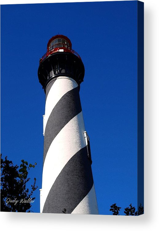 Lighthouse Acrylic Print featuring the photograph The Lighthouse by Judy Waller