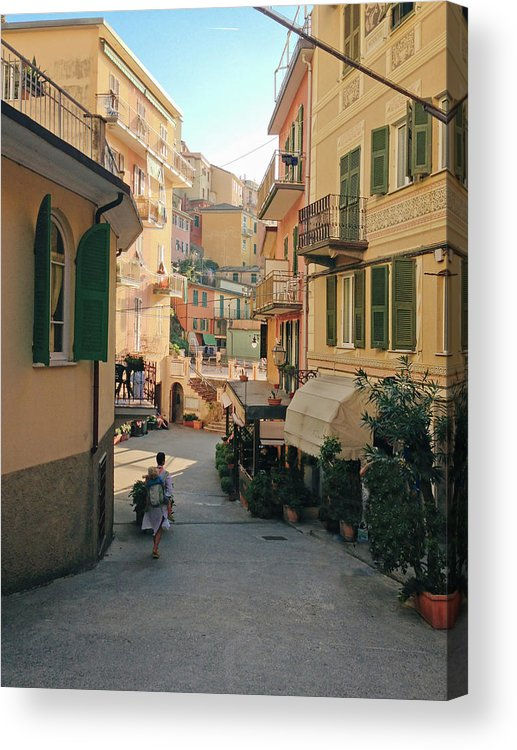 Toddler Acrylic Print featuring the photograph Manarola Italy by M Swiet Productions