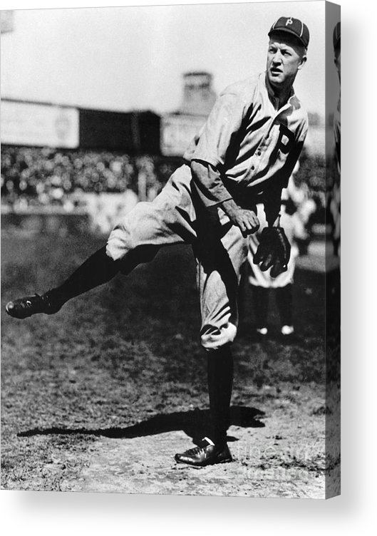1910-1919 Acrylic Print featuring the photograph National Baseball Hall Of Fame Library by National Baseball Hall Of Fame Library