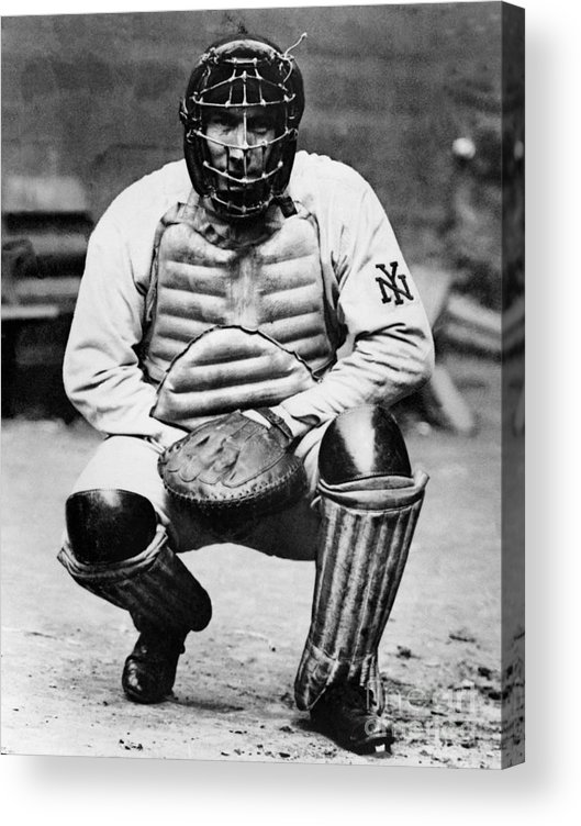 Baseball Catcher Acrylic Print featuring the photograph National Baseball Hall Of Fame Library by National Baseball Hall Of Fame Library