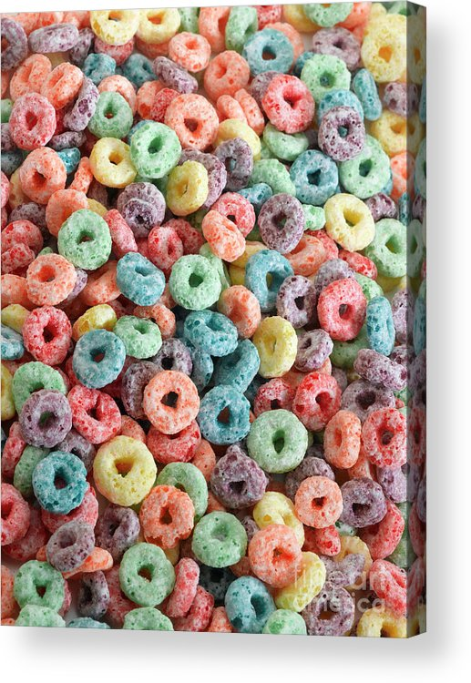 Breakfast Acrylic Print featuring the photograph Fruit Cereal by Adshooter