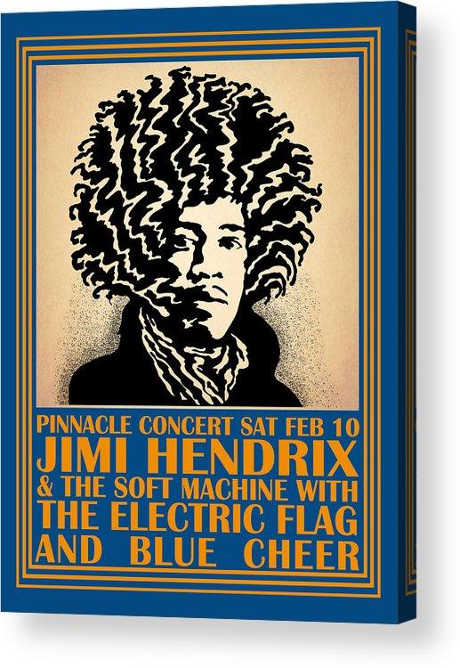 Hendrix Pinnacle Concert Acrylic Print featuring the photograph Hendrix Pinnacle Concert by Mark Rogan
