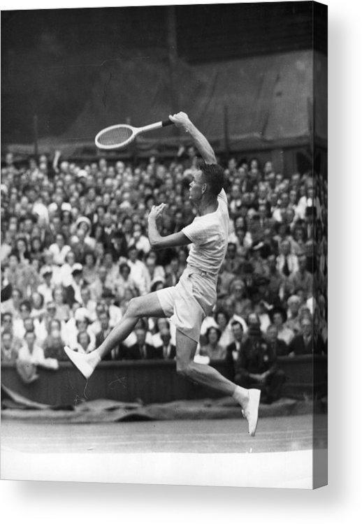 Tennis Acrylic Print featuring the photograph Jack Kramer by Douglas Miller