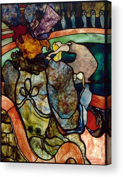 Horse Acrylic Print featuring the drawing Papa Chrysanthème At The New Circus by Heritage Images