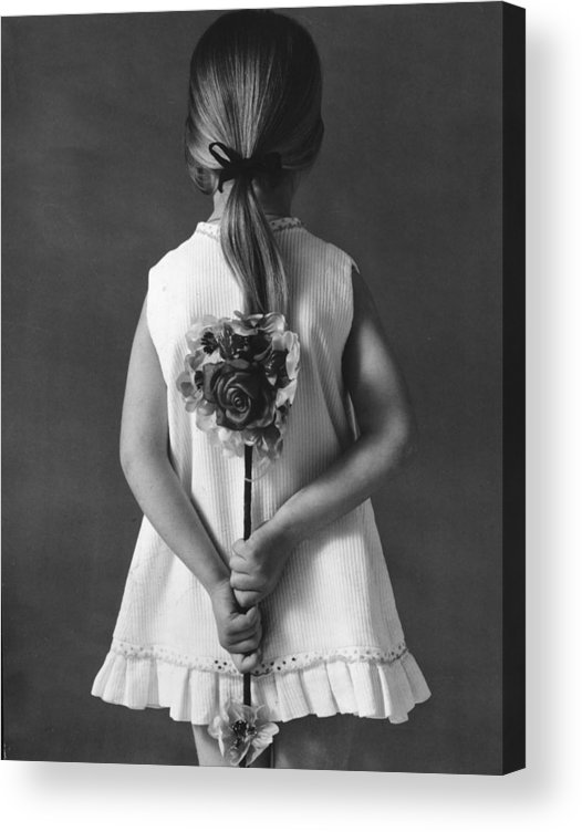 Mother's Day Acrylic Print featuring the photograph Pour Sa Maman by Keystone