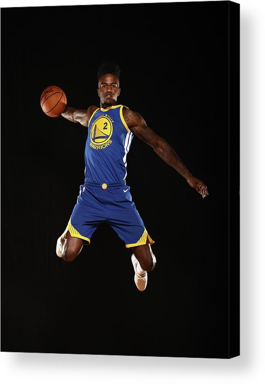 Nba Pro Basketball Acrylic Print featuring the photograph Jordan Bell by Brian Babineau