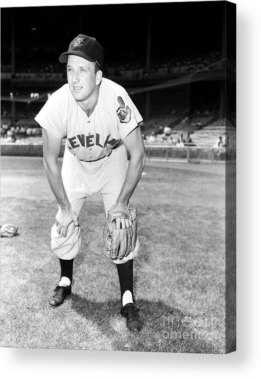 People Acrylic Print featuring the photograph Ralph Kiner by Kidwiler Collection