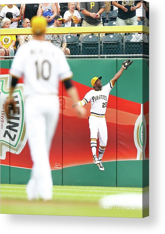 People Acrylic Print featuring the photograph Andrew Mccutchen by Jared Wickerham