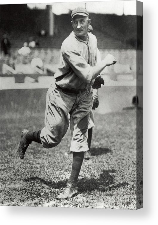 Sports Ball Acrylic Print featuring the photograph Honus Wagner by National Baseball Hall Of Fame Library