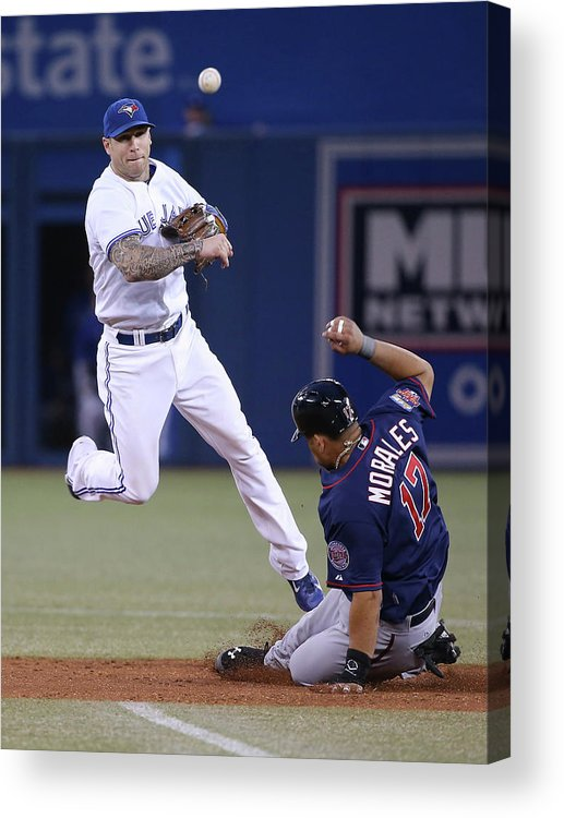 Double Play Acrylic Print featuring the photograph Jay Rogers by Tom Szczerbowski