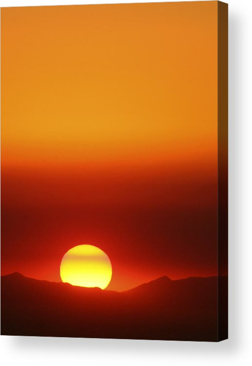 Catalina Sunset Acrylic Print featuring the photograph Catalina Sun by Andre Aleksis