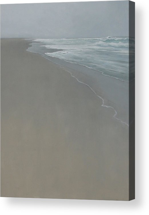 Acrylic Print featuring the painting Drift by Mary Jo Van Dell