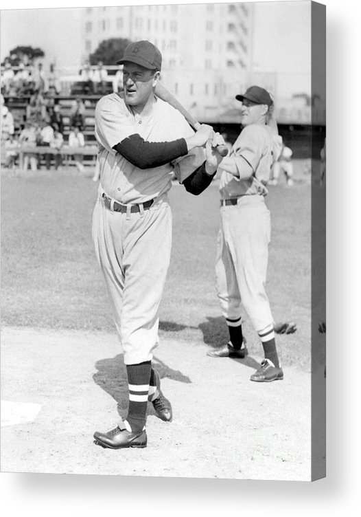 1930-1939 Acrylic Print featuring the photograph Joe Cronin by National Baseball Hall Of Fame Library