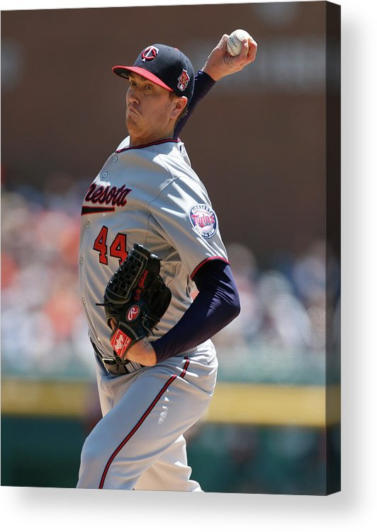 American League Baseball Acrylic Print featuring the photograph Kyle Gibson by Gregory Shamus