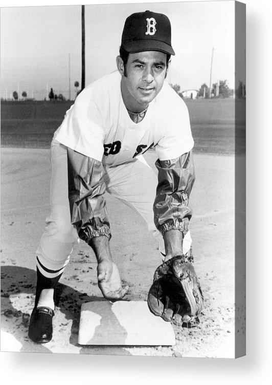 National League Baseball Acrylic Print featuring the photograph Luis Aparicio by National Baseball Hall Of Fame Library